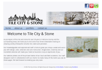 """Tile City and Stone"" Brand Website"